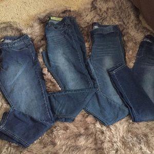 Denim - 4 pairs of jeans